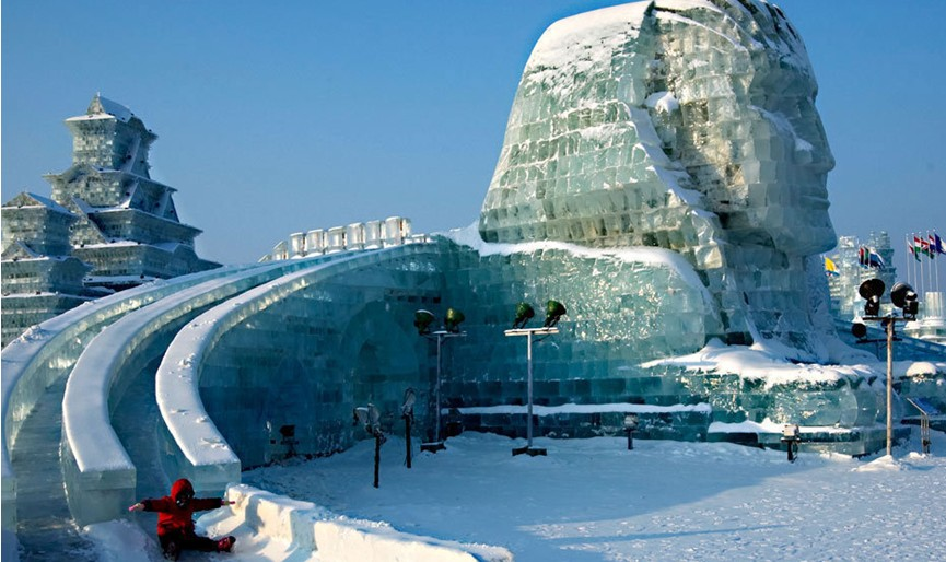 Harbin Ice and Snow World Heilongjiang Province Hot Spots China Travel Pa