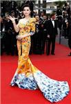 Fan bingbing dragon-robe outfit was collected by the English museum