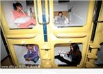 Capsule hotel draws guests