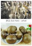 The story of Arhat fruit