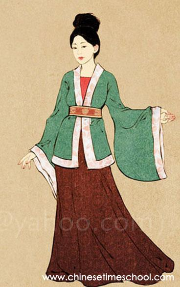 Women S Fashion In Ancient China