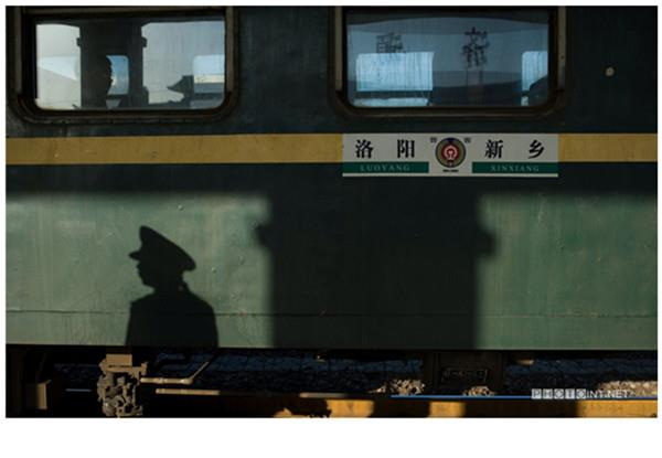 China journey through green trains