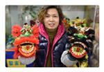 Mother and daughter: Generations of 'lion head' makers