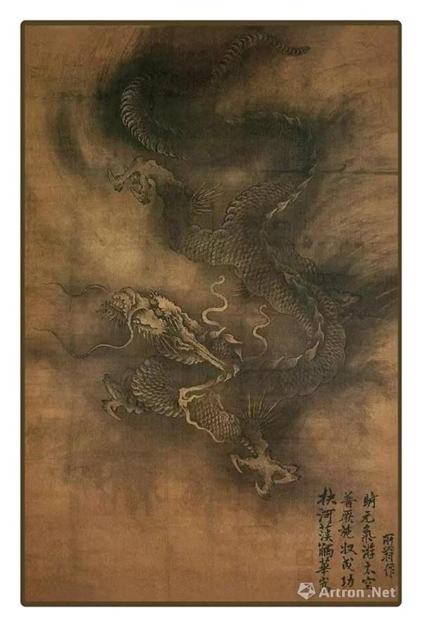 A brief history of China dragon paintings