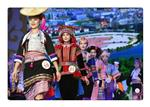 Final competition of ethnic dress festival held in SW China's Yunnan